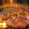 焼肉4kgセットもみダレ漬け華咲きハラミと華咲きカタロース
